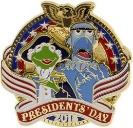 Kermit the Frog and Sam the Eagle