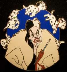 Cruella De Vil Spinner