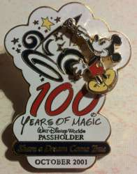 Share a Dream Come True Passholder - Mickey Mouse