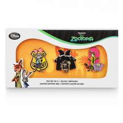 Zootopia 3-pin set