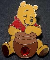 Winnie the Pooh with honey pot