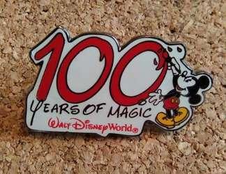 WDW 100 Years Of Magic Mickey