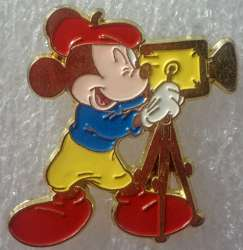 Cameraman Mickey Mouse