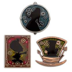 Alice Through the Looking Glass Limited Edition Pin Set