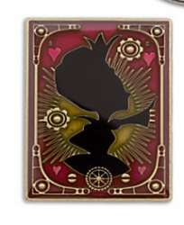 Red Queen pin
