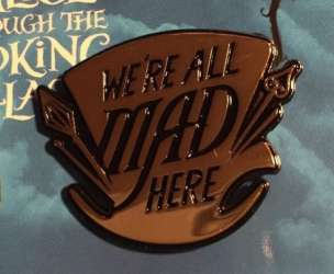 Mad Hatter's Hat - We're All Mad Here