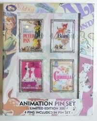 Animation Pin Set - Fall 2016