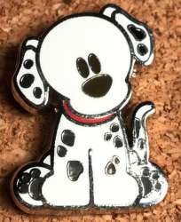 Cute Disney Animals - 2010 Disney Pongo from 101 Dalmations Booster Pack