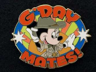 G'Day Mates - Minnie Mouse