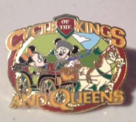 Cycle of the Kings and Queens - Mickey Mouse and Minnie Mouse