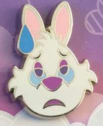 White Rabbit Worried Only