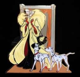 Cruella, Pongo and Perdita