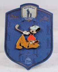 ''Canine Caddy'' Mickey Mouse and Pluto