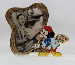Walt Disney with Painter Mickey