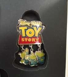 Sleeping Beauty / Toy Story - Little Green Men Pin