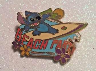 Stitch - Beach Party