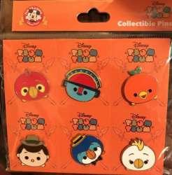 Adventureland Tsum Tsum Booster Set (6 pin set)