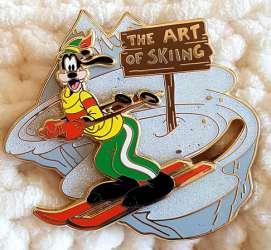 Goofy the art of skiing