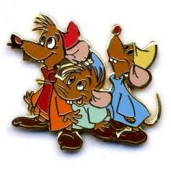 Three Mice - Jaq, Luke and either Bert or Mert