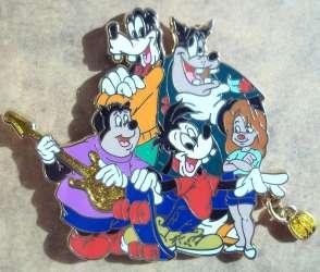 Goofy, Pete, Roxanne, Max and PJ
