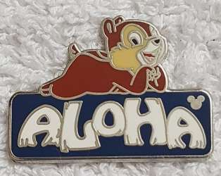 Aloha Chip and Dale Mystery Pouch