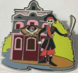Pirates of the Caribbean skeleton