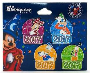 2017 Year Pins Booster Set