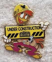 Disney Resort Construction Sign