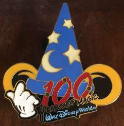 100 years of magic walt disney world light up sorcerer hat