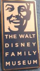 Walt Disney Family Museum Logo Pin