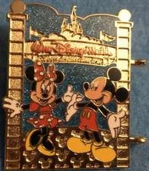 Mickey and MInnie at Walt Disney World gate