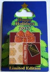 2017 Holiday Gift Box Pin