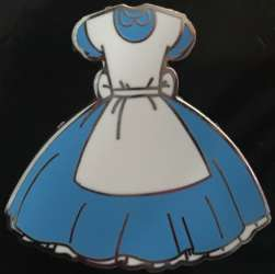 Alice in Wonderland Pin Trading Flair 4-pin Set