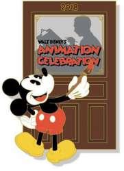 Walt Disney's Animation Celebration Logo Pin