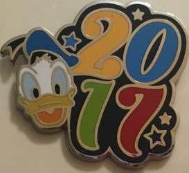 2017 Year Pins 6 Pin Booster Set