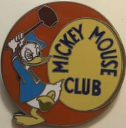 Mickey Mouse Club Deluxe Pin Trading Starter Set