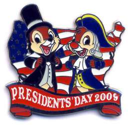 Chip & Dale 2009 Presidents' Day