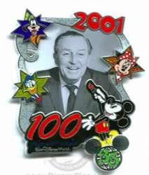 2001 - Walt 100 Years of Magic Celebration