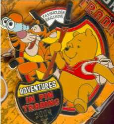 Annual Passholder Exclusive Pin - Winnie the Pooh