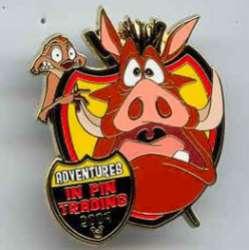 Gift Pin - Timon & Pumbaa