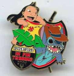 Gift Pin - Lilo & Stitch
