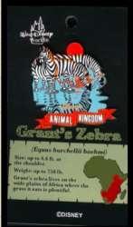 Animal Kingdom Pin Celebration 2001 - Safari Animals