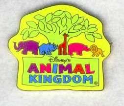 Whimsical Logo Pin