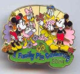 Mickey, Minnie, Donald and Daisy