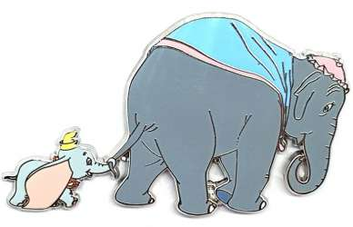 Dumbo with Mother Silver