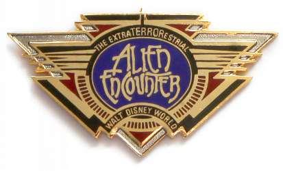 Unreleased Alien Encounter Logo