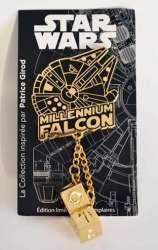 Millennium Falcon with Dice