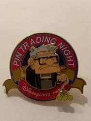 Pin trading night carl