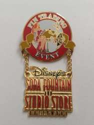 Pin trading event surprise pin