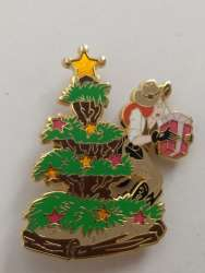 Frontier land Christmas tree